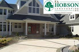 Driveway And Patio Company F A Hobson Landscaping Inc A Design Build Company Maryland