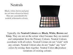 neutral colours colours speak all languages joseph addison ppt video online