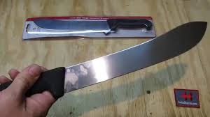 victorinox kitchen knives fibrox victorinox 10 inch butcher knife youtube