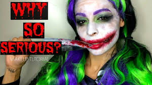 female joker makeup tutorial sfx youtube