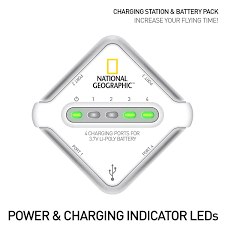 amazon com national geographic 4 port drone charging station with