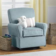 dorel home furnishings milan aqua blue swivel glider chair home
