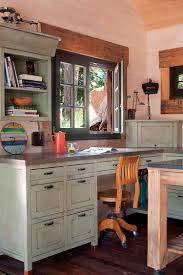 custom home office desk 30 gorgeous shabby chic home offices and craft rooms