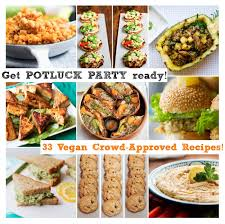 Lunch Buffet Menu Ideas by 33 Potluck Perfect Vegan Dishes