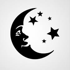 crescent moon and vinyl ideas images