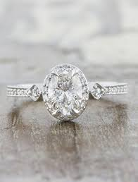 vintage oval engagement rings agatha oval diamond engagement ring ken design