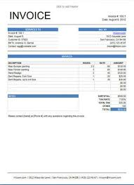 10 free freelance invoice templates word excel