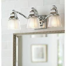 3 light bathroom fixtures bathroom lighting at the home depot pertaining to light fixtures for