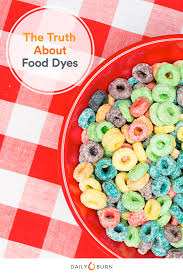 there health risks to consuming food dyes