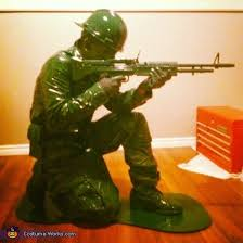Army Soldier Halloween Costume Army Man Costume