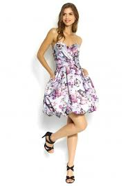 jora collection collection floral puff skirt satin mini dress