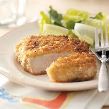 breaded pork chops recipe taste of home
