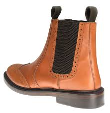 brogue chelsea boots mens boots image