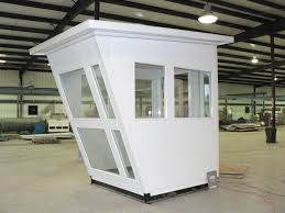 prefabricated guard house panel built