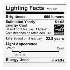 philips led br30 warm glow dimmable 650 lumen 2700 2200 kelvin 9