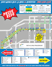 Map Of Santa Monica Here U0027s All The Street Closures For La Pride This Weekend Curbed La