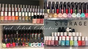 my nail polish collection storage essie opi zoya china