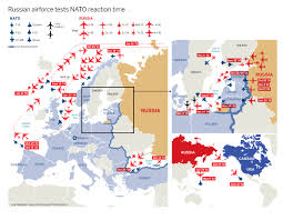 Cold War Europe Map by Cold War 2 0 Visualizing All Recent