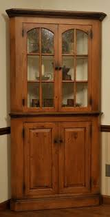built in corner cabinet with glass shelves furniture u0026 what nots
