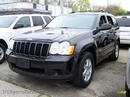 jeep grand cherokee blackout 2009 jeep grand cherokee laredo 4x4 in brilliant black crystal