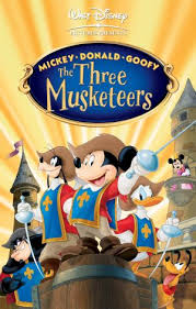 mickey donald goofy musketeers disney wiki