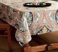 pottery barn table linens pottery barn table linens west elm table runner anton paisley