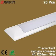 led linear tube lights led linear light tri proof clean purification tube light 4ft 36w