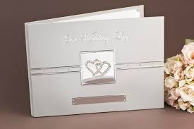 wedding wishes book wedding deluxe silver guest book wish diy wedding 51162