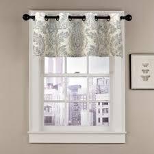 Kitchen Curtains And Valances by Damask Valances U0026 Kitchen Curtains You U0027ll Love Wayfair