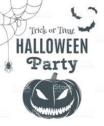 halloween template halloween party poster template stock vector art 486123124 istock