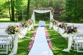 Garden Wedding Ceremony Ideas Garden Wedding Decoration Ideas At Best Home Design 2018 Tips