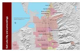 New York City Area Map by Salt Lake City Maps And Orientation Salt Lake City Utah Ut Usa