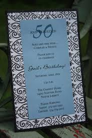 words for 50th birthday homemade invitations 50birthday