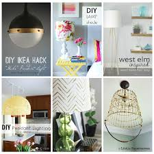 Diy Light Fixtures by 20 Diy Lighting Ideas Light Fixtures Lamps And More