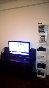 Console Bookshelves by Lack Wall Shelf For Gaming Consoles Ikea Hackers Ikea Hackers