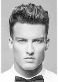 rockabilly rear view of men s haircuts swept back top short sides and back hairstyles pinterest