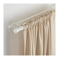 Two Curtains In One Window Räcka Hugad Double Curtain Rod Combination Ikea