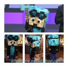 Minecraft Costume Minecraft Dantdm Costume With Grim Projects Pinterest