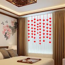 la chambre nuptiale 1 set 3 m amour coeur non tissé chambre nuptiale de mariage décor