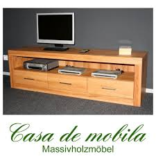 Schlafzimmer Kommode Buche Massiv Tv Lowboard Buche Nachbildung Edelos Com U003d Inspiration Design