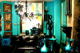 bedroom tasty teal living room furniture brown and turquoise
