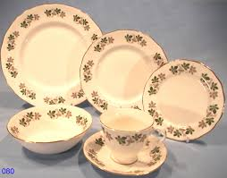 gainsborough vintage bone china bachelor tea dinner set sold