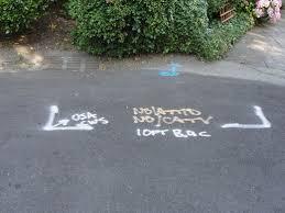 what does u0027usa u0027 written in spray paint on the streets sidewalks