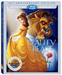 beauty and the beast town beauty and the beast 25th anniversary edition blu ray review