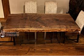 walnut dining table base cool photo walnut dining chair rustic table live edge slab wood