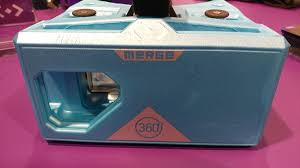 ces 2017 merge vr releases holocube a vr toy that educates