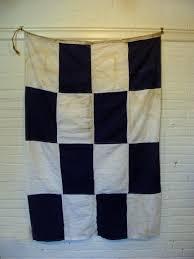 Flag Hoist Signaling World War Ii Era Us Navy International Alphabet Flag Letter N