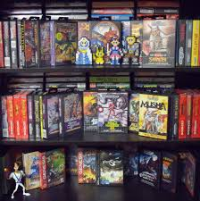 comic book shelves toys retro megabit