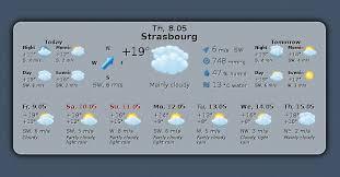 gadget de bureau meteo gis weather un widget météo ultra paramétrable pour gnu linux et