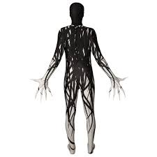 morphsuits spirit halloween zalgo morphsuit costume walmart com